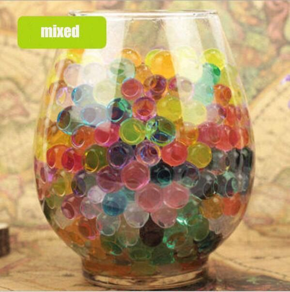 Jelly Ball Decor Extraordinary Jelly Colored Growing Water Balls Water Beads Wedding Decoration Inspiration