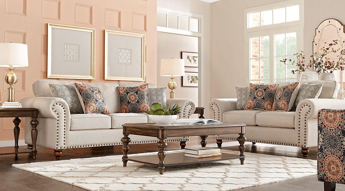 Court Street Beige 7 Pc Living Room  Color  Pinterest  Beige Endearing Beige Living Room Designs Design Decoration