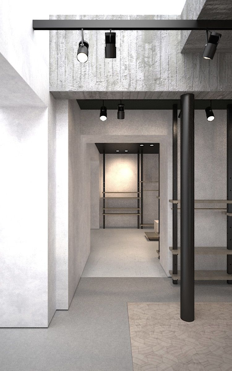 Detail shop design by AD office