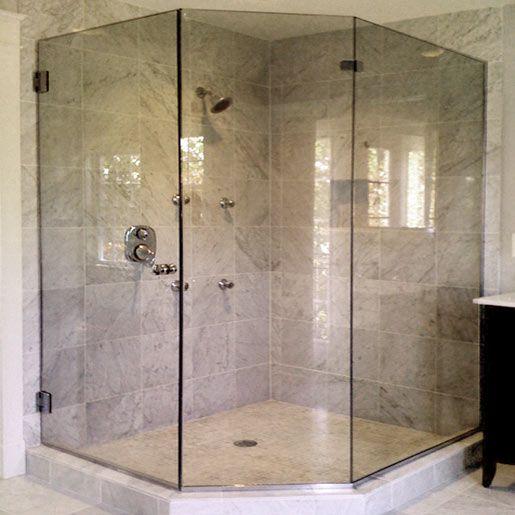 Glass Bathroom Shower Designs Glass Shower Doors In Michigan