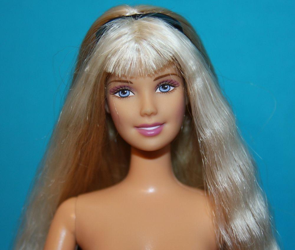 Vintage 1992 Mattel Glitter Beach Barbie Doll Nude | eBay