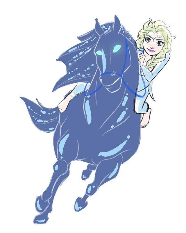 Nippy13 On Instagram Elsa Adventure Coming Soon So Excited For This One Disney Frozen Elsa Disney Fan Art Disney Movie Characters