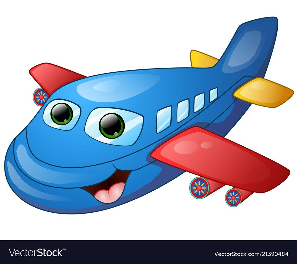 Illustration Of Happy Plane Cartoon Download A Free Preview Or High Quality Adobe Illustrator Ai Eps Pdf And Cartoon Airplane Plane Cartoon Drawing For Kids