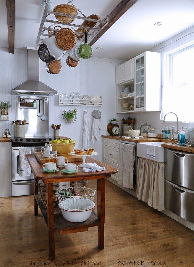 Rustic Farmhouse: Prairie Style 2014   Kitchen style ...