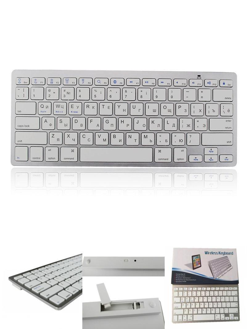 Visit To Buy Wireless Bluetooth Keyboard For Russian Keyboard Layout Hebrew Korean Arabic Thai French Engl Russian Keyboard Bluetooth Keyboard Windows Tablet