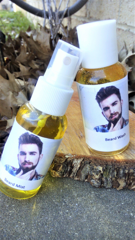 Beard wash and beard mist set for men, health and beauty