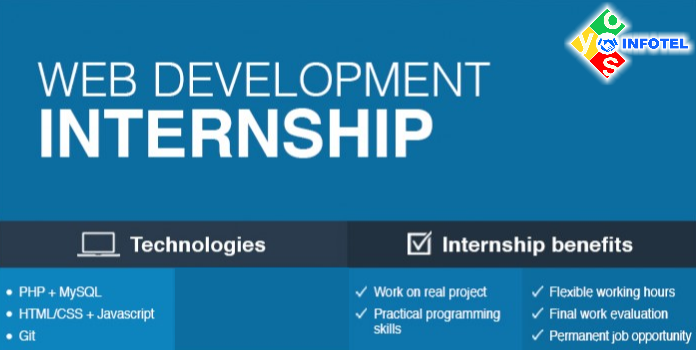 Web Development Industrial Training And Internship Web Development Training Development Web Development