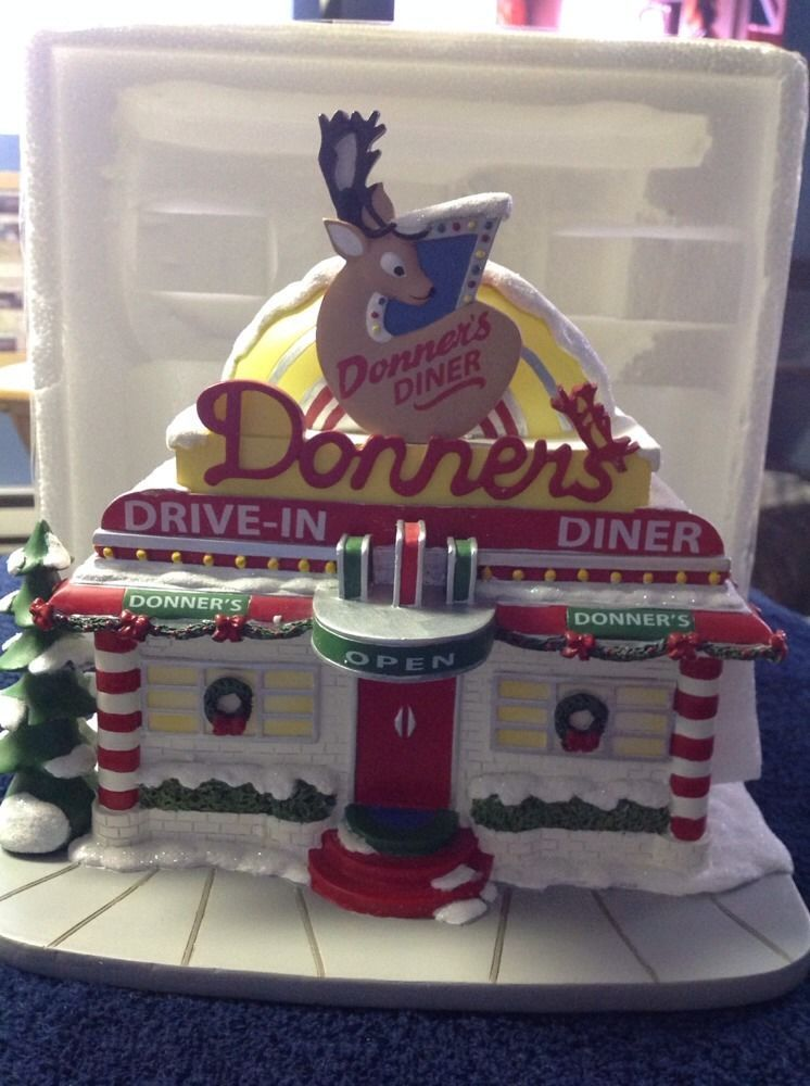 Donners Diner - Hawthorne Village - Rudolph\'s Christmas Village ...