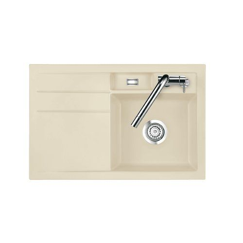 Bela 51cm X 20cm Kitchen Sink Systemceram Sink Orientation Right