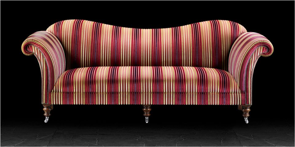 Striped Upholstery Fabric For Sofa Modern Top 10 Living Room