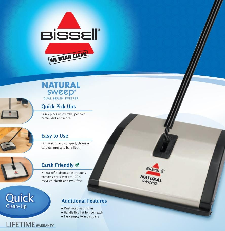Bissell Natural Carpet And Floor Sweeper 92n0a