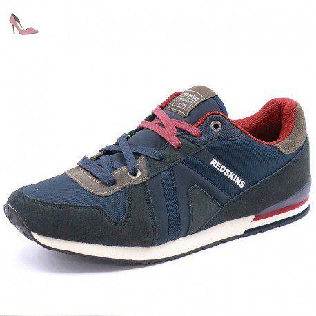 Redskins Worm Marine Taupe IT561ZA184, Basket - 43 EU - Chaussures redskins  (*Partner