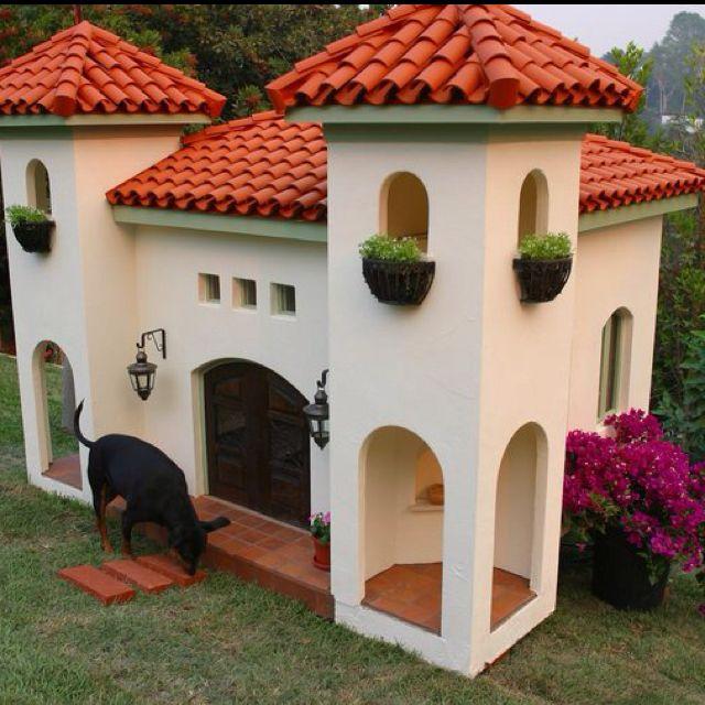 Super Cute Dog House Cool Dog Houses Dog Mansion Luxury Dog House