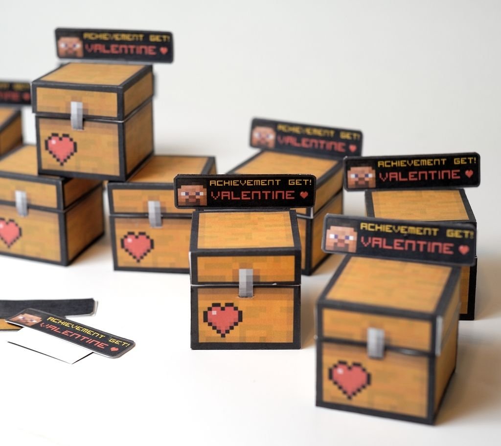 12 Of The Best Geeky Cool Printable Valentine S Cards Star Wars Minecraft Emojis Fnaf