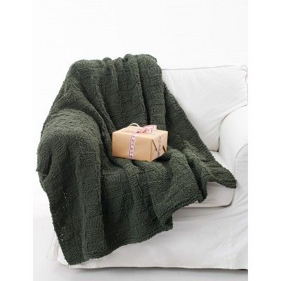 Cozy Checkerboard Afghan Free Knitting Pattern Pinterest Afghans