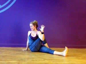 kathryn budig challenge pose baby hopper ii  yoga