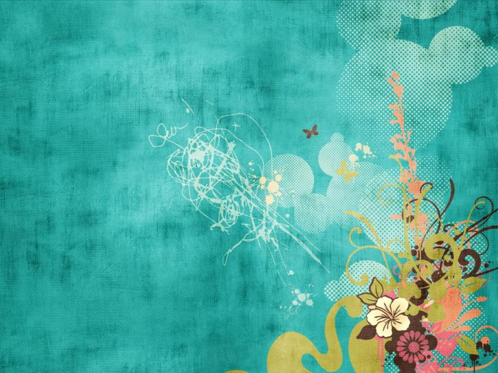 turquoise swirls design wallpapers - photo #16