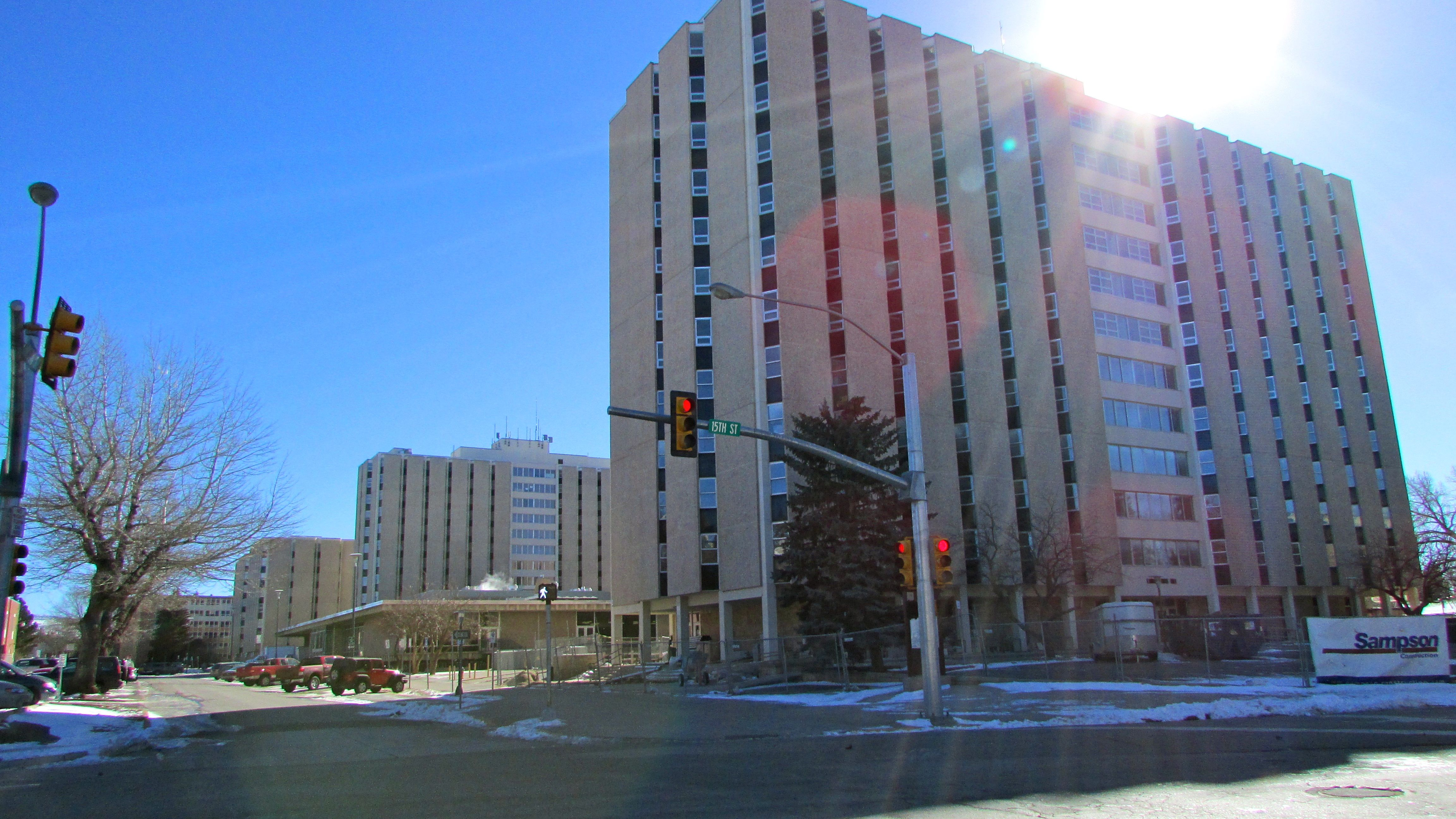 Wyoming Hall and Mens Residence Hall, University of