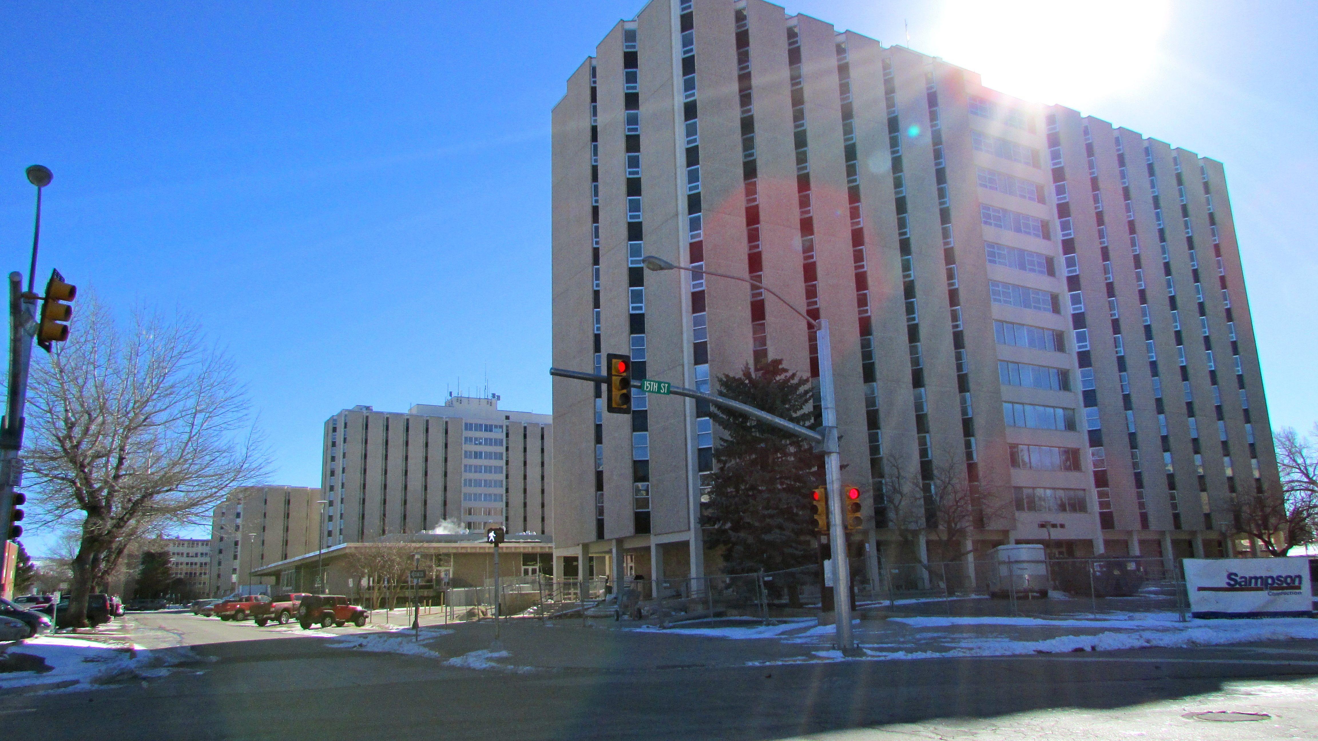 University of Wyoming residence halls.