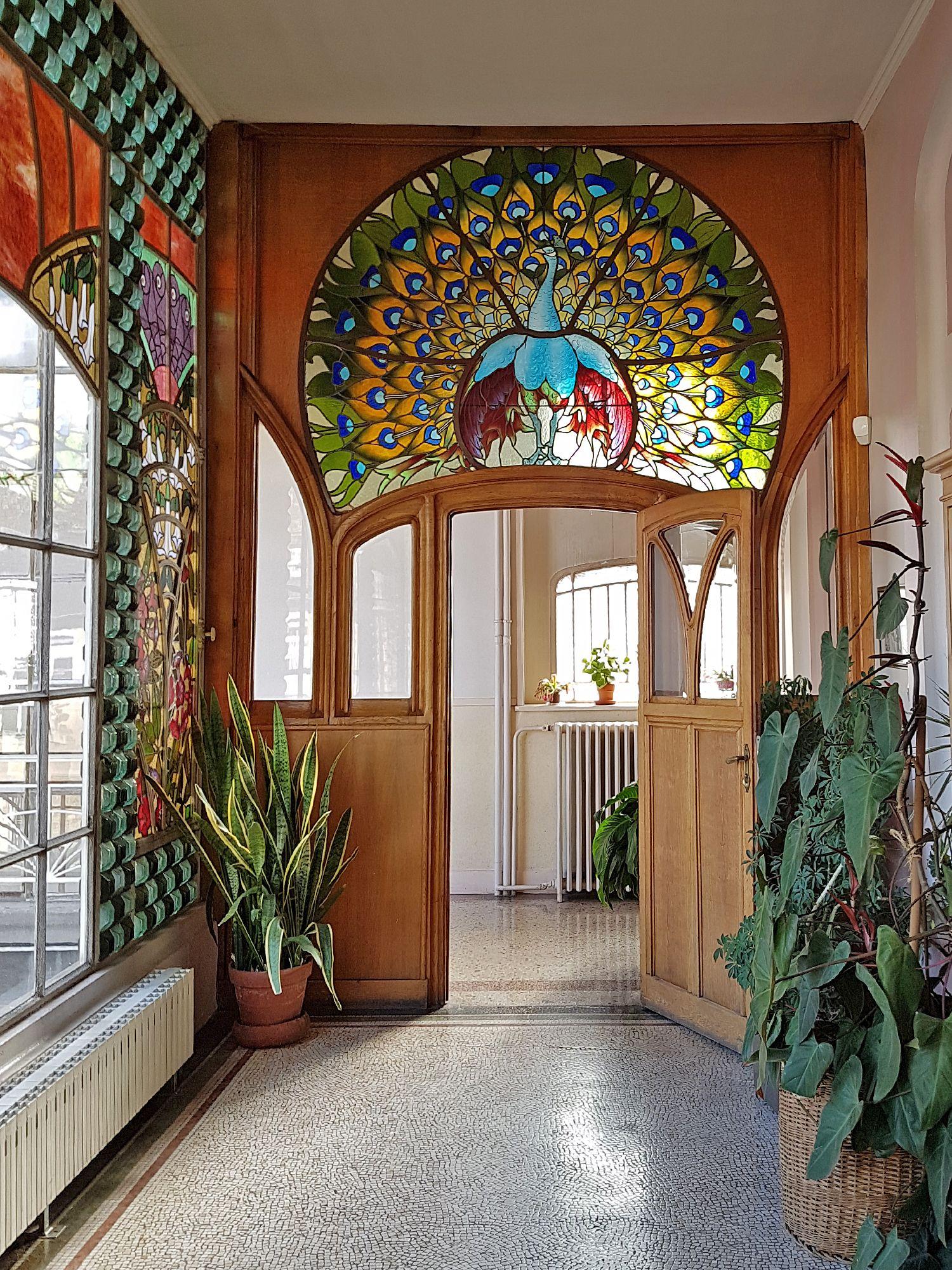 Maison bergeret nancy fr art nouveau 1905 jardin - Maison jardin furniture nancy ...