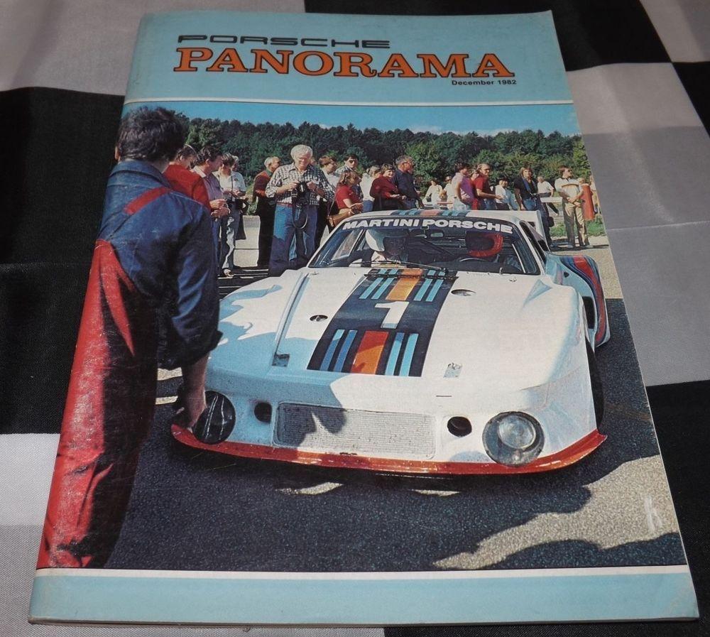 Panorama Porsche Car: PANORAMA PORSCHE USA MAGAZINE DECEMBER 1982 VOL 27 NO. 12
