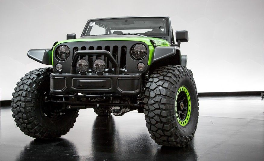 Jeep Trailcat Concept Pictures Photo Gallery Car And Driver
