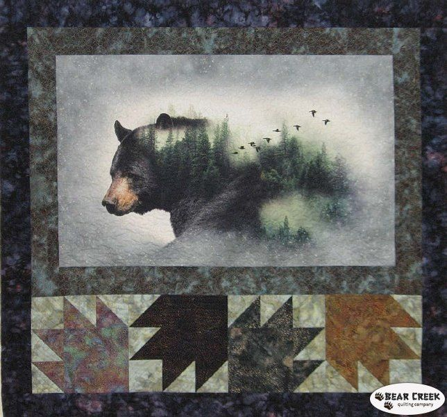 Call Of The Wild Free Quilt Pattern by Hoffman Fabrics   SEWING ... : hoffman free quilt patterns - Adamdwight.com