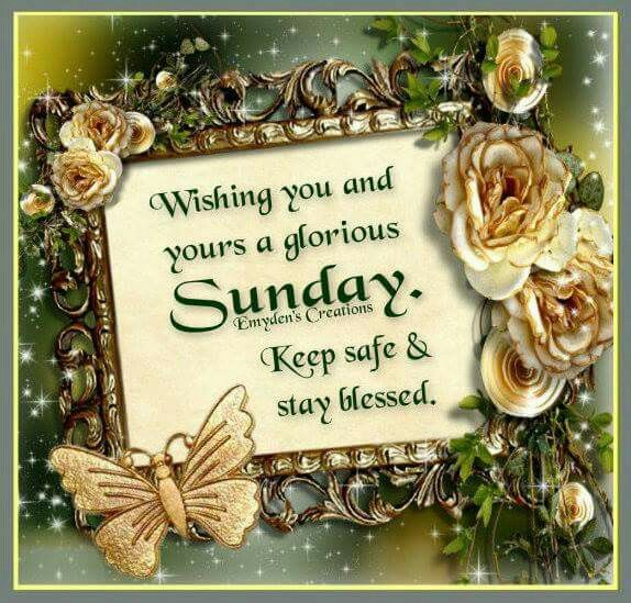 Keep safe & stay blessed  | SUNDAY | Happy sunday quotes