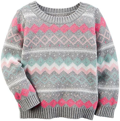 Carters Baby Girls Sweater 235g549 Print 12M Read more at