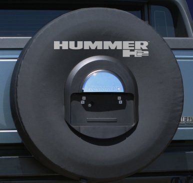 20052010 Hummer H2 Soft Tire Cover  Nonreflective Logo  Genuine GM Licensed * Check out the image by visiting the affiliate link Amazon.com on image.