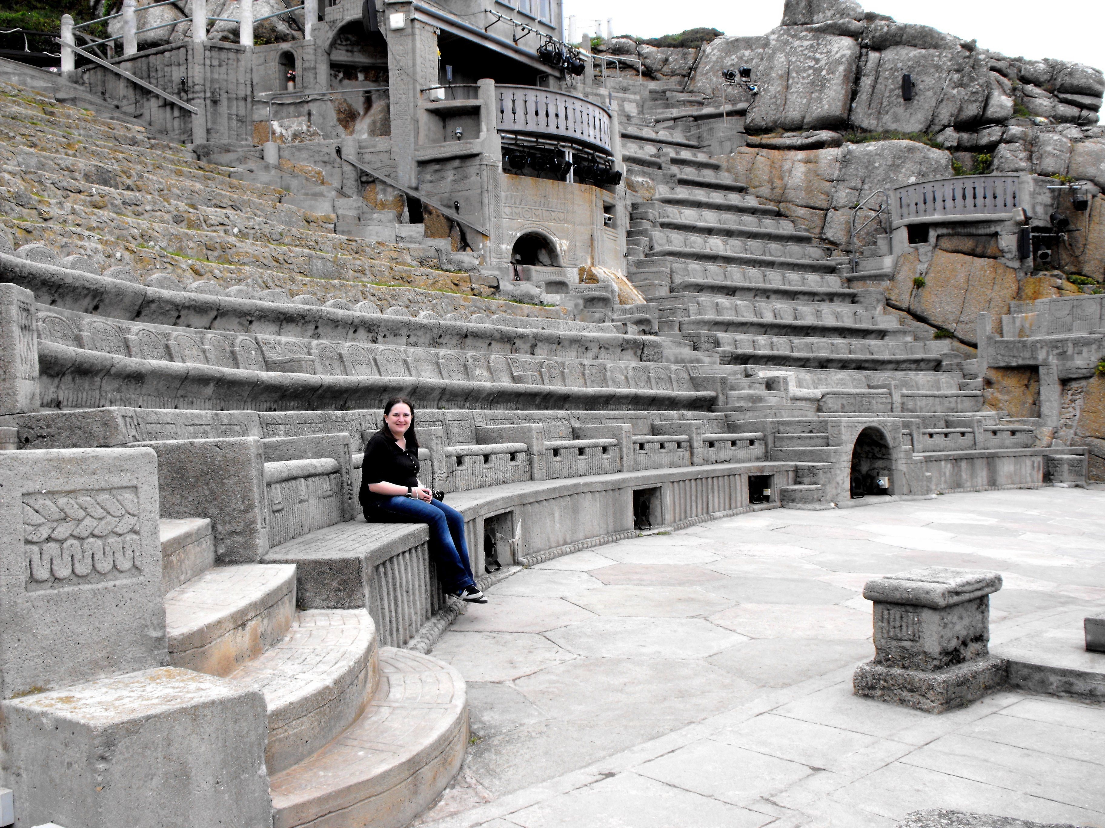 The Minack Theatre is an openair theatre, constructed