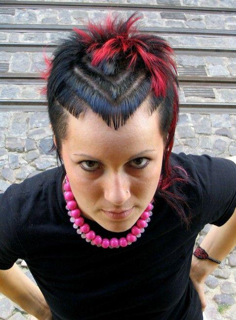 Punk Hairstyles For Women Stylish Photo Live Stylish Haar Styling Kurze Haare Trend Selbstgemachte Frisuren
