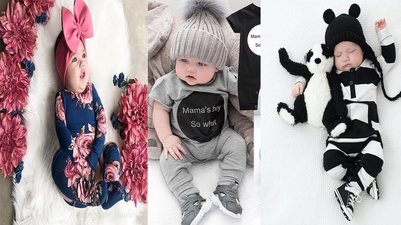 احدث ملابس اطفال بنات و اولاد رضع روعة اخر شياكة موضة 2019 Clothes Baby Onesies Fashion