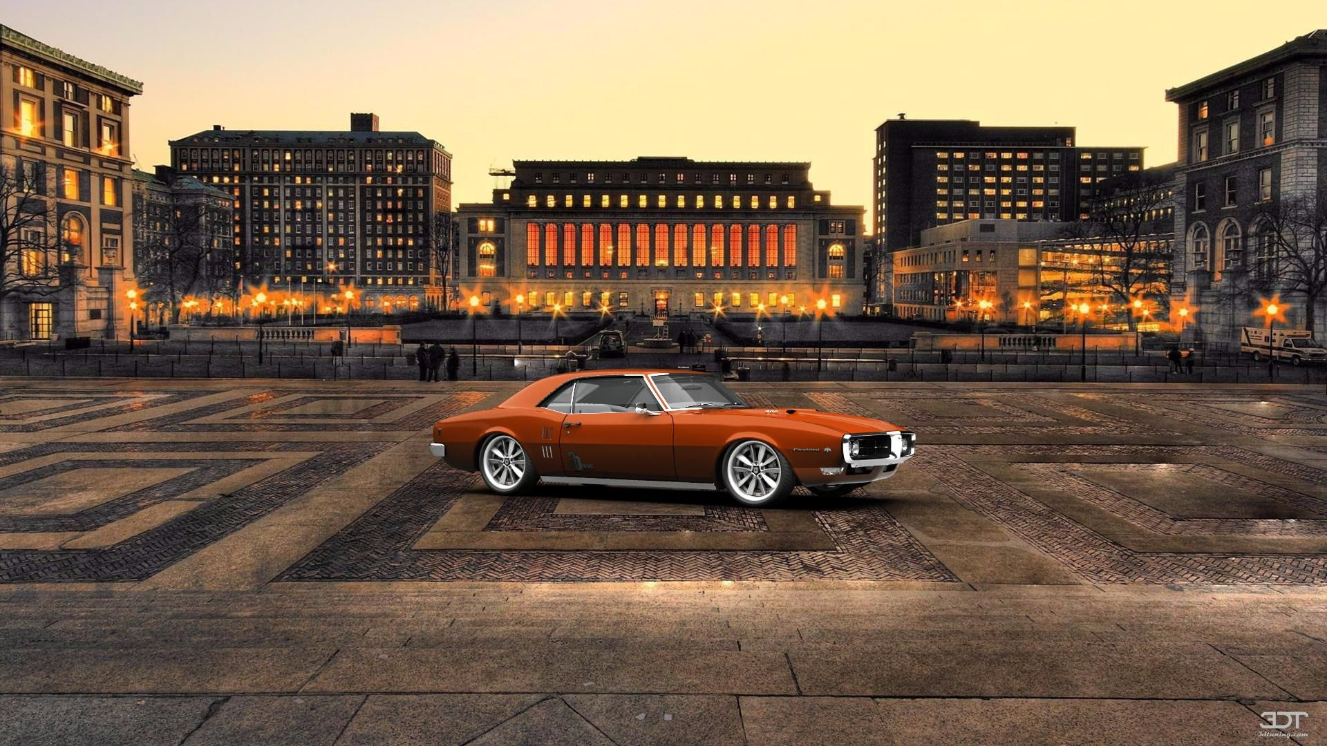 Checkout my tuning Pontiac Firebird 1968 at 3DTuning 3dtuning