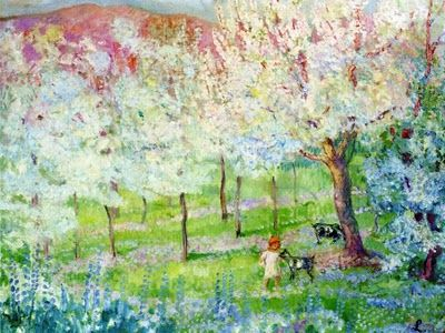 Famous Spring Paintings Google Search Spring Landscape Landscape Paintings Spring Painting
