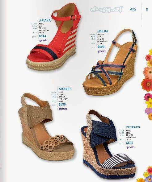 24d8dec77e03a Lindos zapatos Plataforma de Mujer. Catalogo Desigual Mexico Primavera Verano  2015