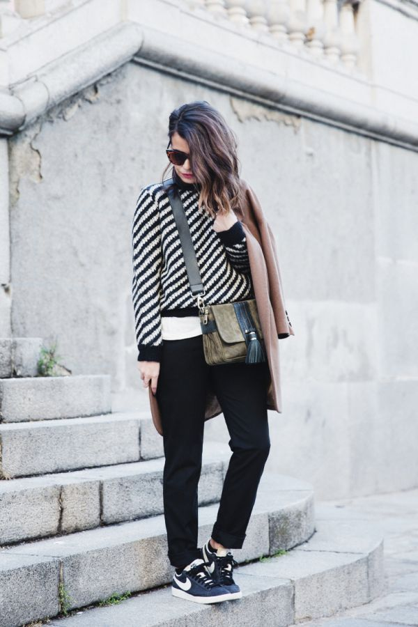 Heels or Sneakers? by Sara Escudero on Fashion Indie