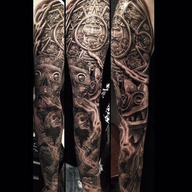 Pin by Alex Gonzalez on Tattoos | Tattoos, Sleeve tattoos ...