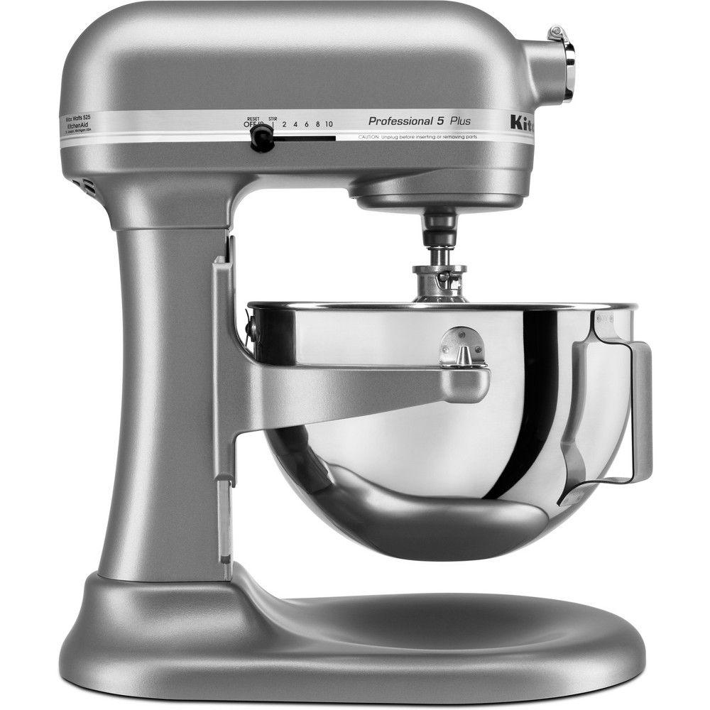 Kitchenaid professional 5 qt mixer kv25g0x silver gray