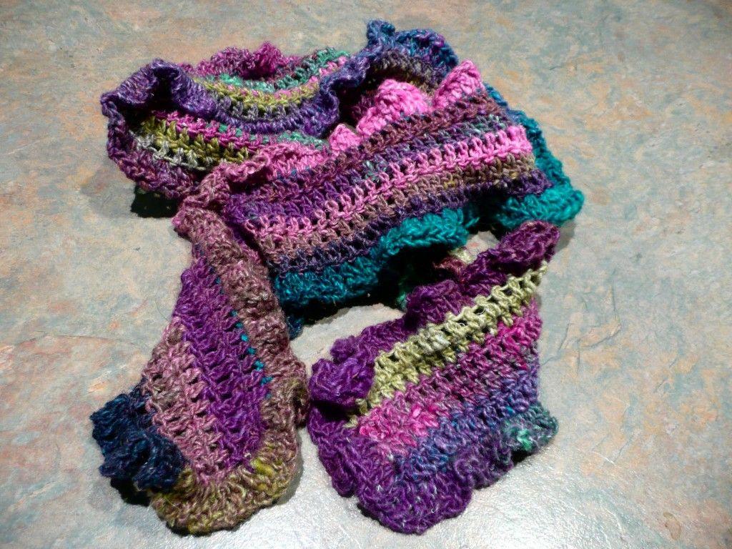 Very pretty scarf | Cool Crochet | Pinterest