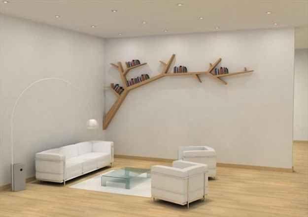 Ast Regal | Bookshelves diy, Shelves, Tree bookshelf