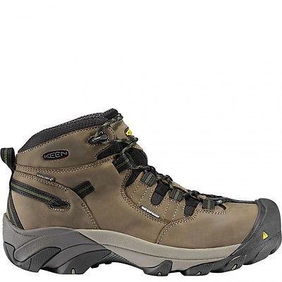 New Keen Mens Detroit Mid Steel Toe Leather Work Safety Construction Boots 11