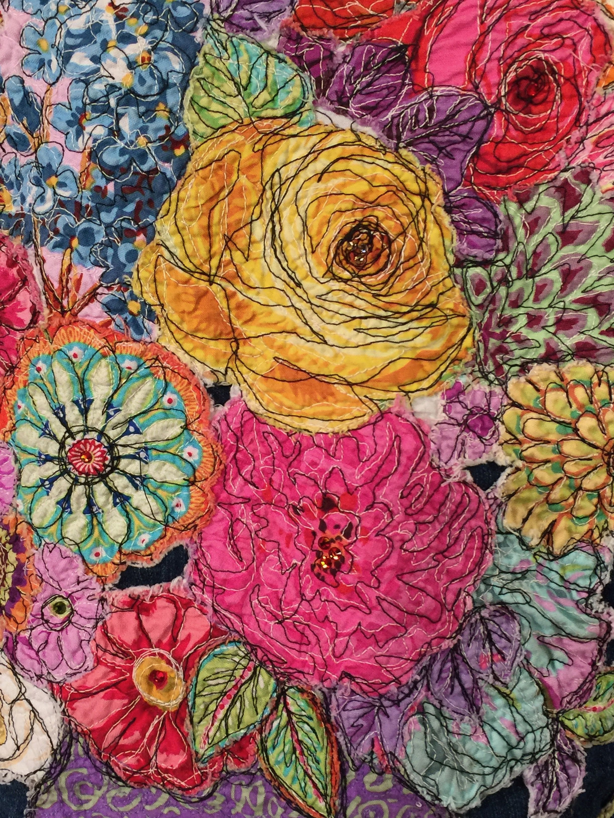 Work By Jean Impey Guest On Quilting Arts Tv Series 2300