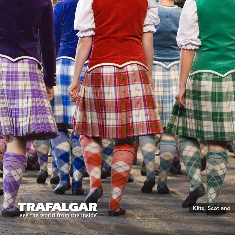 Did you know that the wool to make an average kilt weighs 4.5 to 5 pounds and take 15 hours to complete! Learn more on our Britain and Ireland Panorama trip: http://www.trafalgar.com/britain-and-ireland-panorama-2014