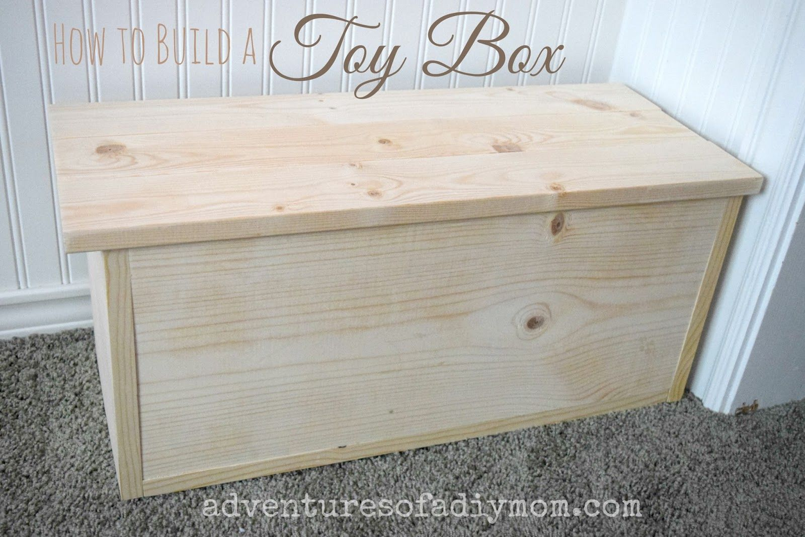 How To Build A Toy Box Wooden Toy Boxes Diy Toy Box Chests Diy