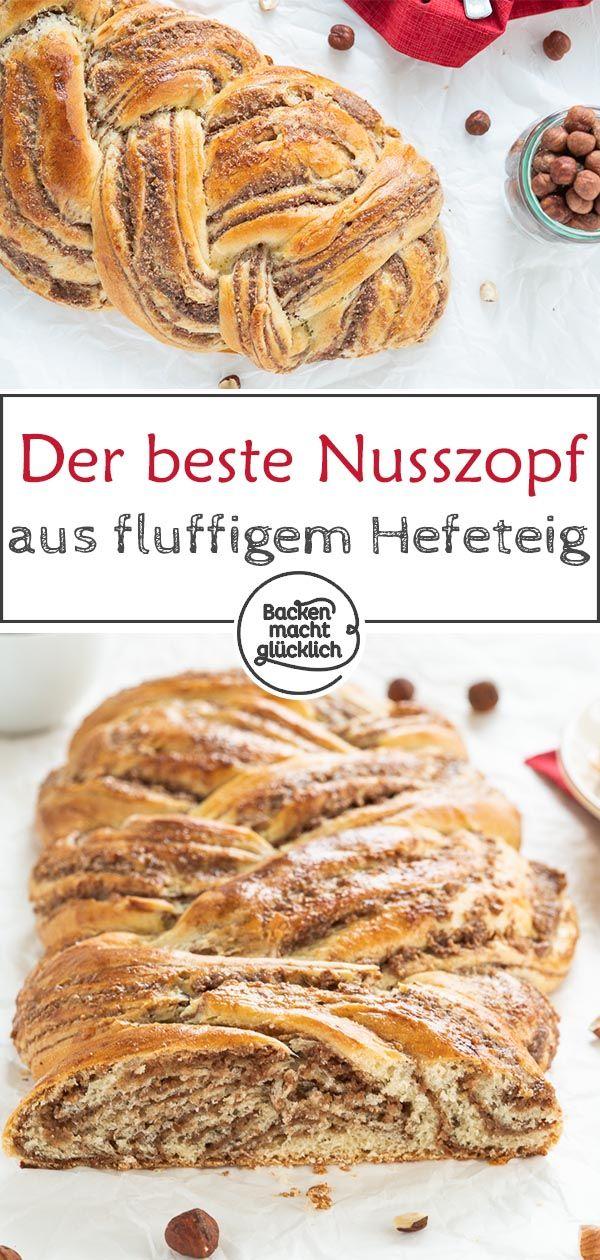 Hefe-Nuss-Zopf