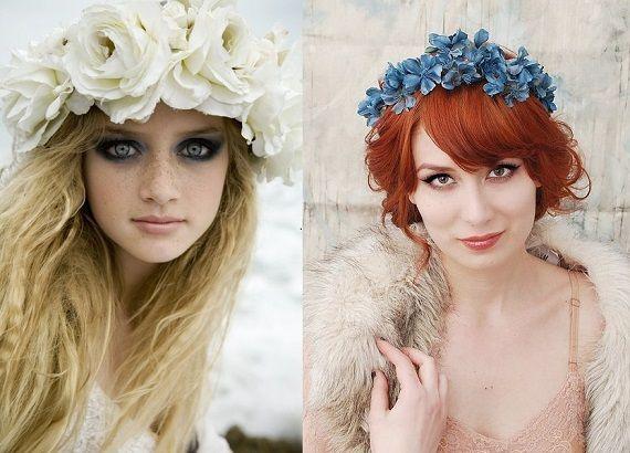Kwiaty We Wlosach Potargal Wiatr Moda Cafe Fashion