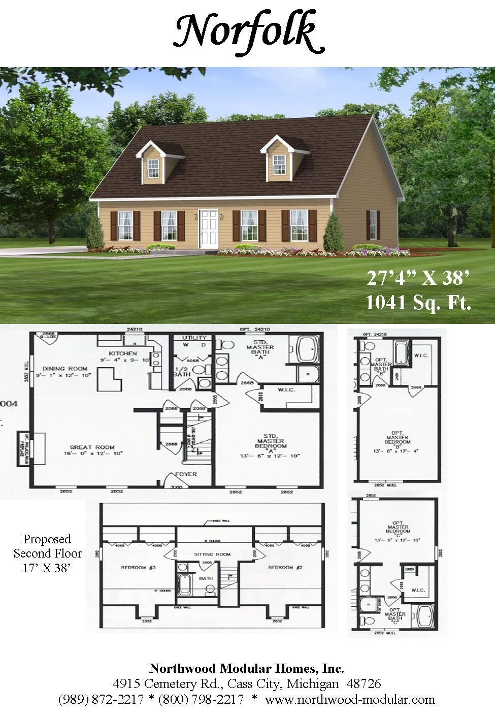 Very Popular One Bedroom On The First Floor Capecod Plan House Layouts House Plans Floor Plans