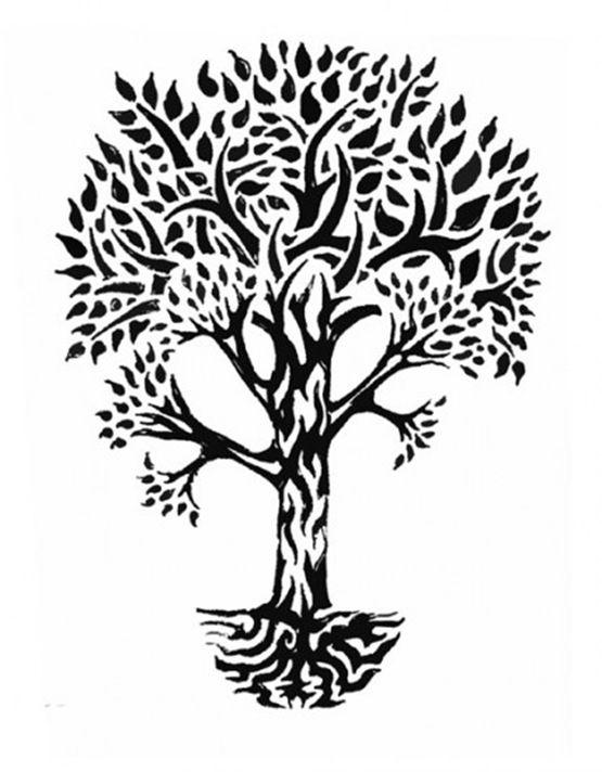 4ae365290 Tribal Meaning Family | New Media Concept Tagged: idea, tree, tattoo,  family, design