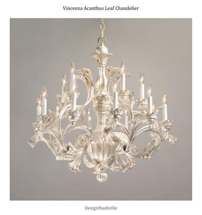 Vincenza acanthus leaf chandelier silver decape finish hand carved vincenza acanthus leaf chandelier silver decape finish hand carved wood and wrought iron hand crafted in italy aloadofball Choice Image